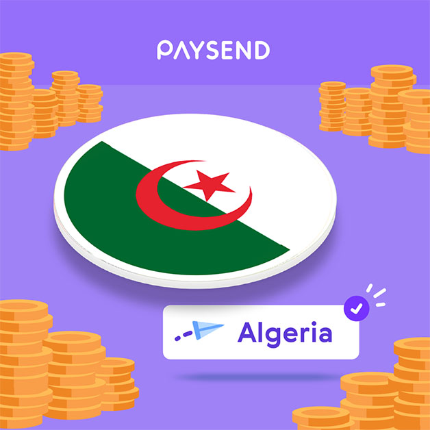 How to send money to Algeria