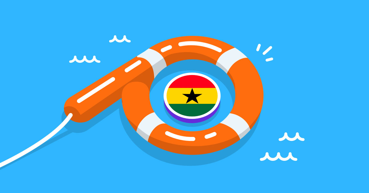 Customers have been using Paysend to send money to loved ones in Ghana during COVID-19.
