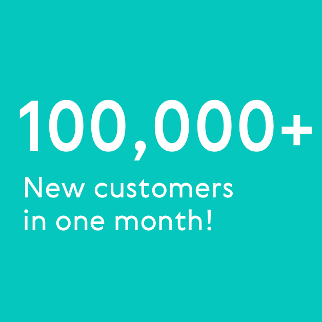 Welcome to our 100k new users who joined in March!