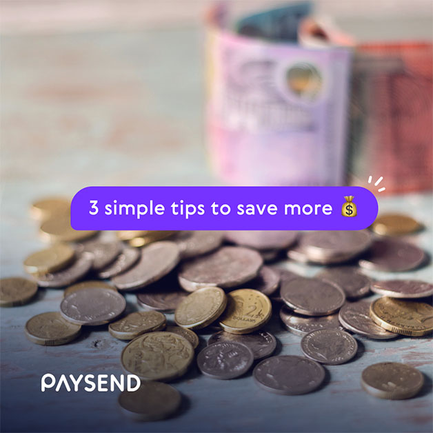 Stressed about money? Try these 3 simple tips to save more