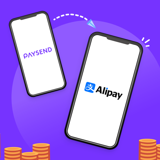 We've partnered with Alipay!